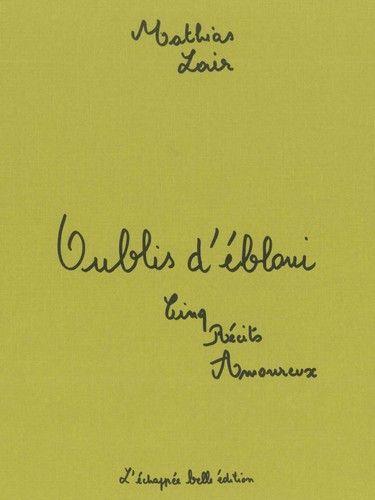 OUBLIS D'EBLOUI