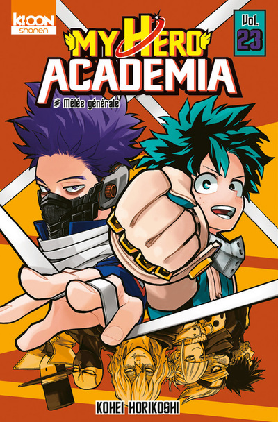 MY HERO ACADEMIA T23 - VOL23