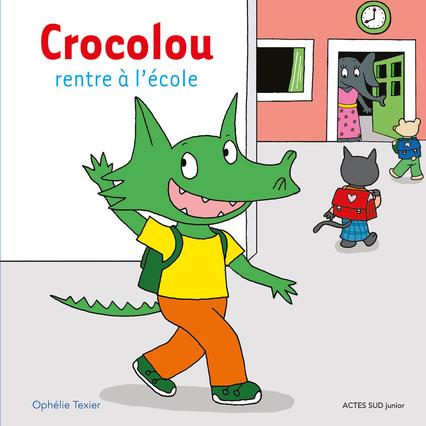 CROCOLOU RENTRE A L'ECOLE