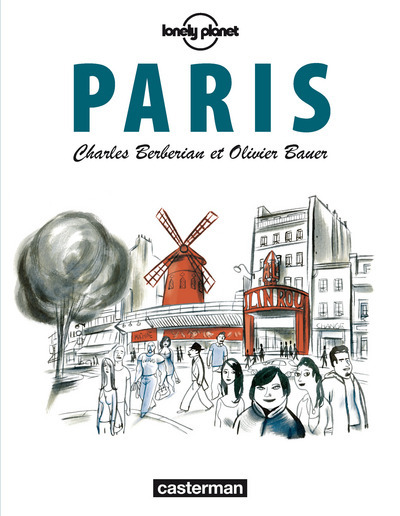 PARIS ITINERAIRE DE CHARLES BERBERIAN ET OLIVIER BAUER