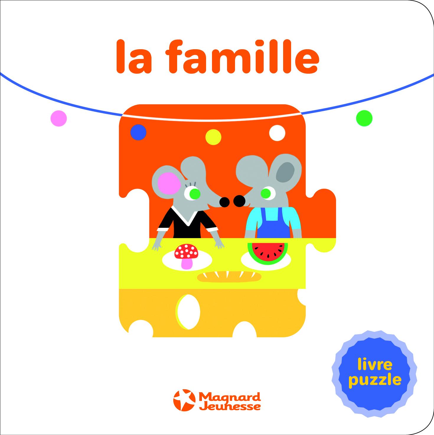 LA FAMILLE - LIVRE PUZZLE