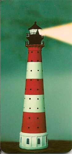 MARQUE PAGE PHARE
