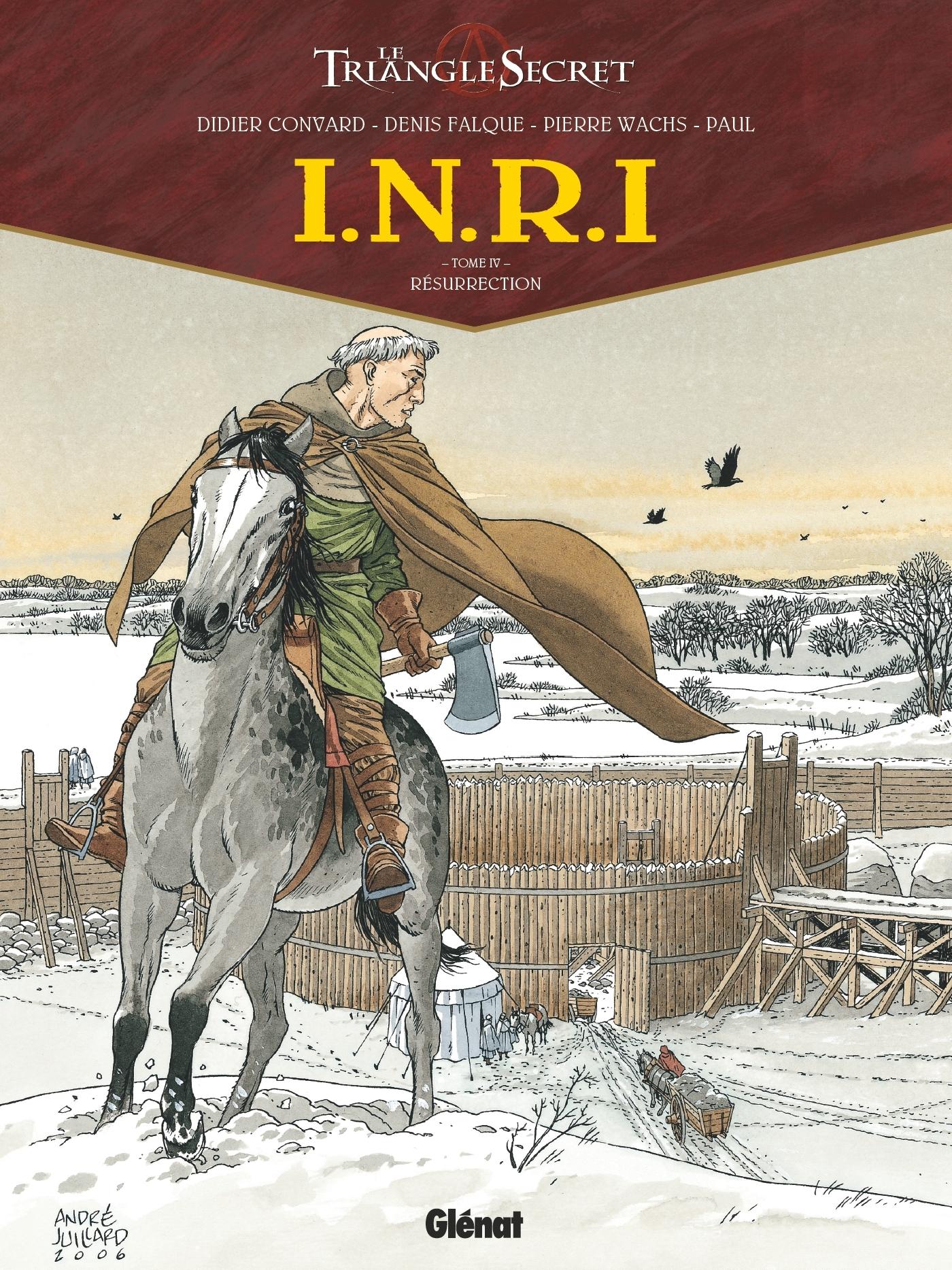 I.N.R.I - TOME 04 - RESURRECTION