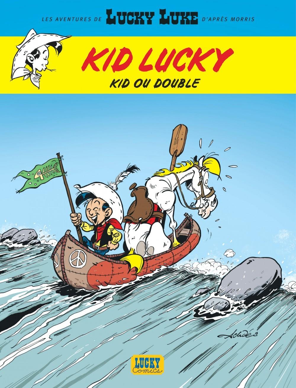 AVENTURES DE KID LUCKY D'APRES MORRIS (LES) - TOME 5 - KID OU DOUBLE