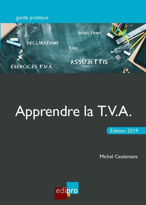 APPRENDRE LA TVA 2019