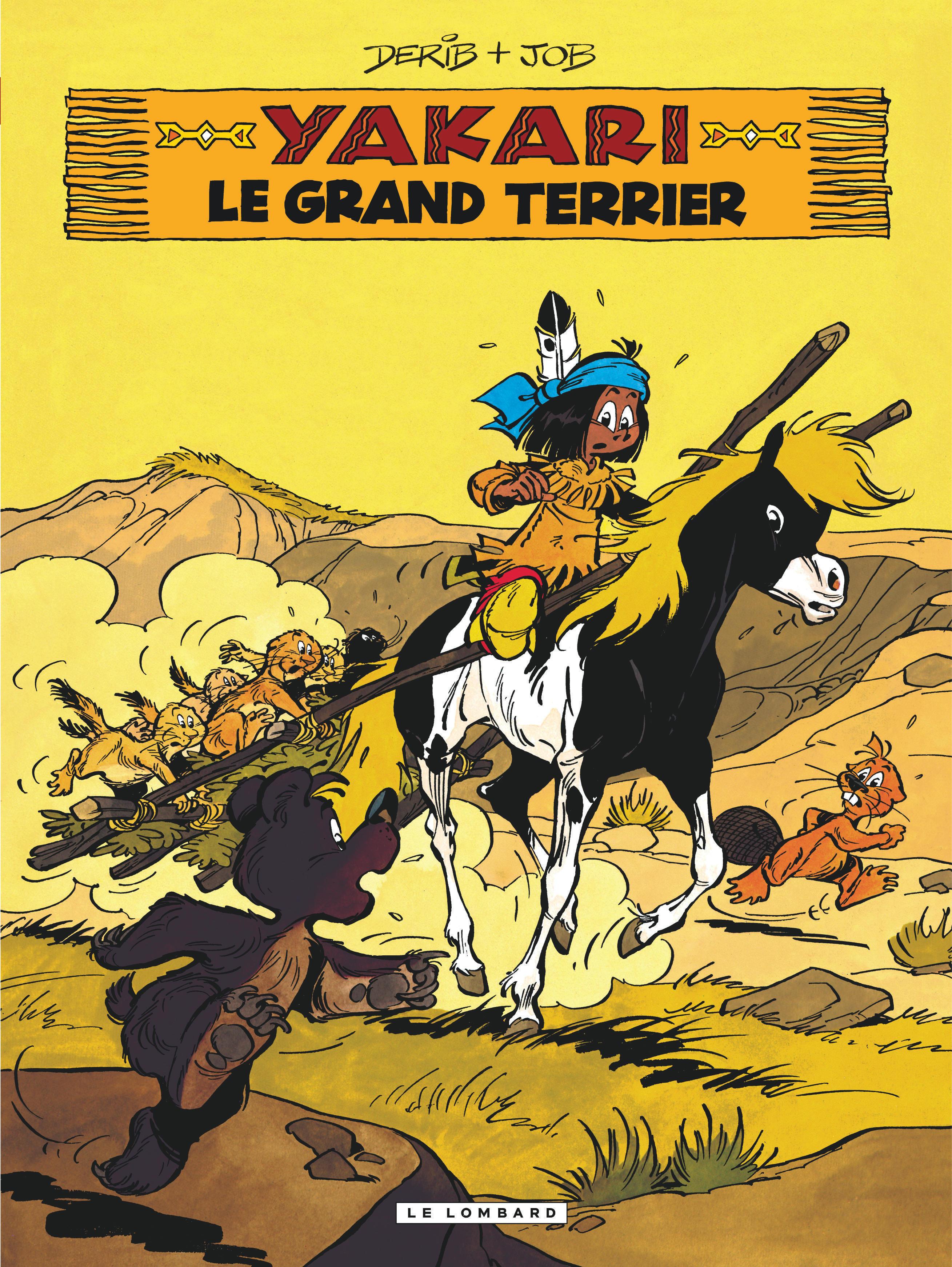 YAKARI - TOME 10 - GRAND TERRIER (LE)