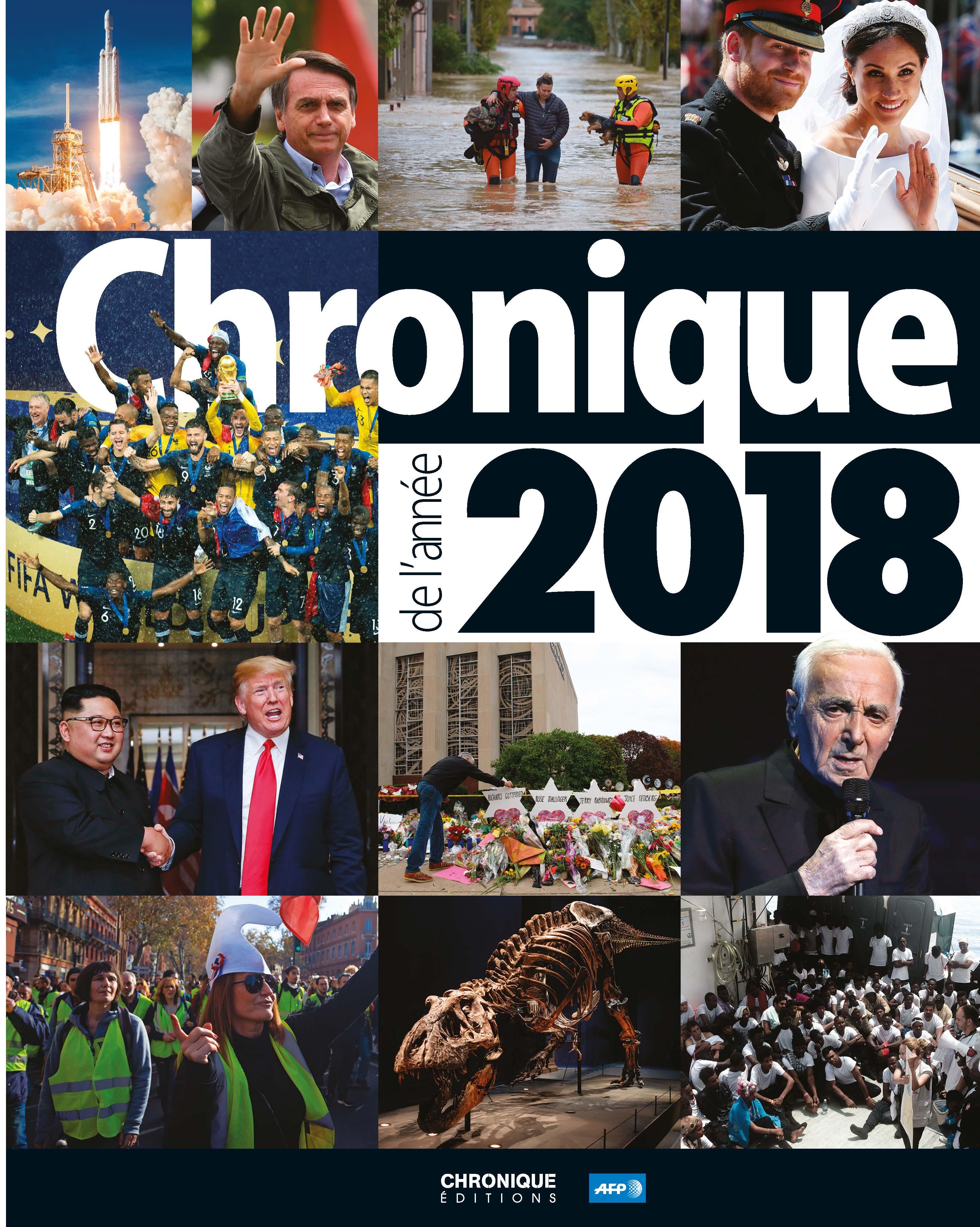 CHRONIQUE DE L'ANNEE 2018