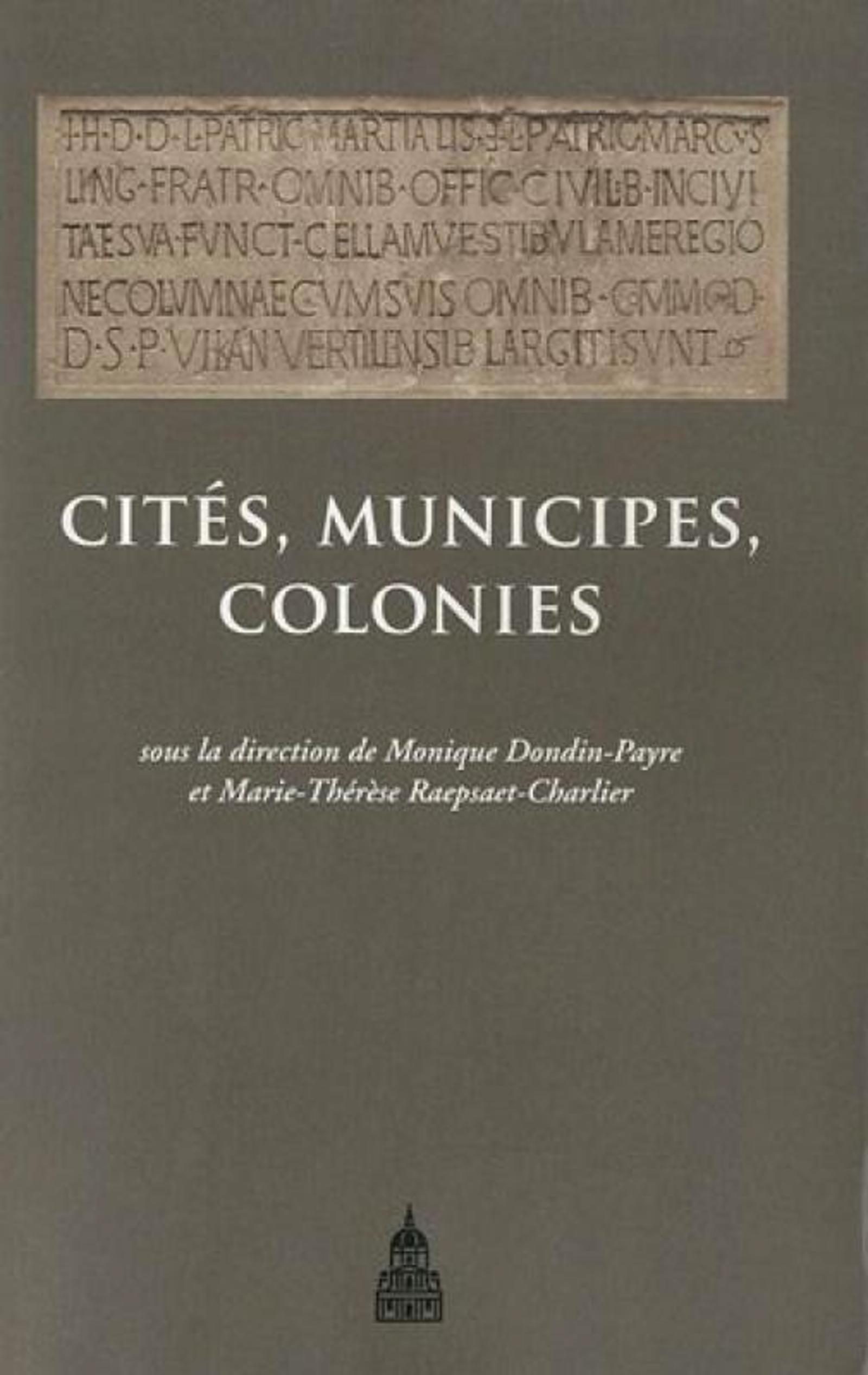 CITES MUNICIPES COLONIES