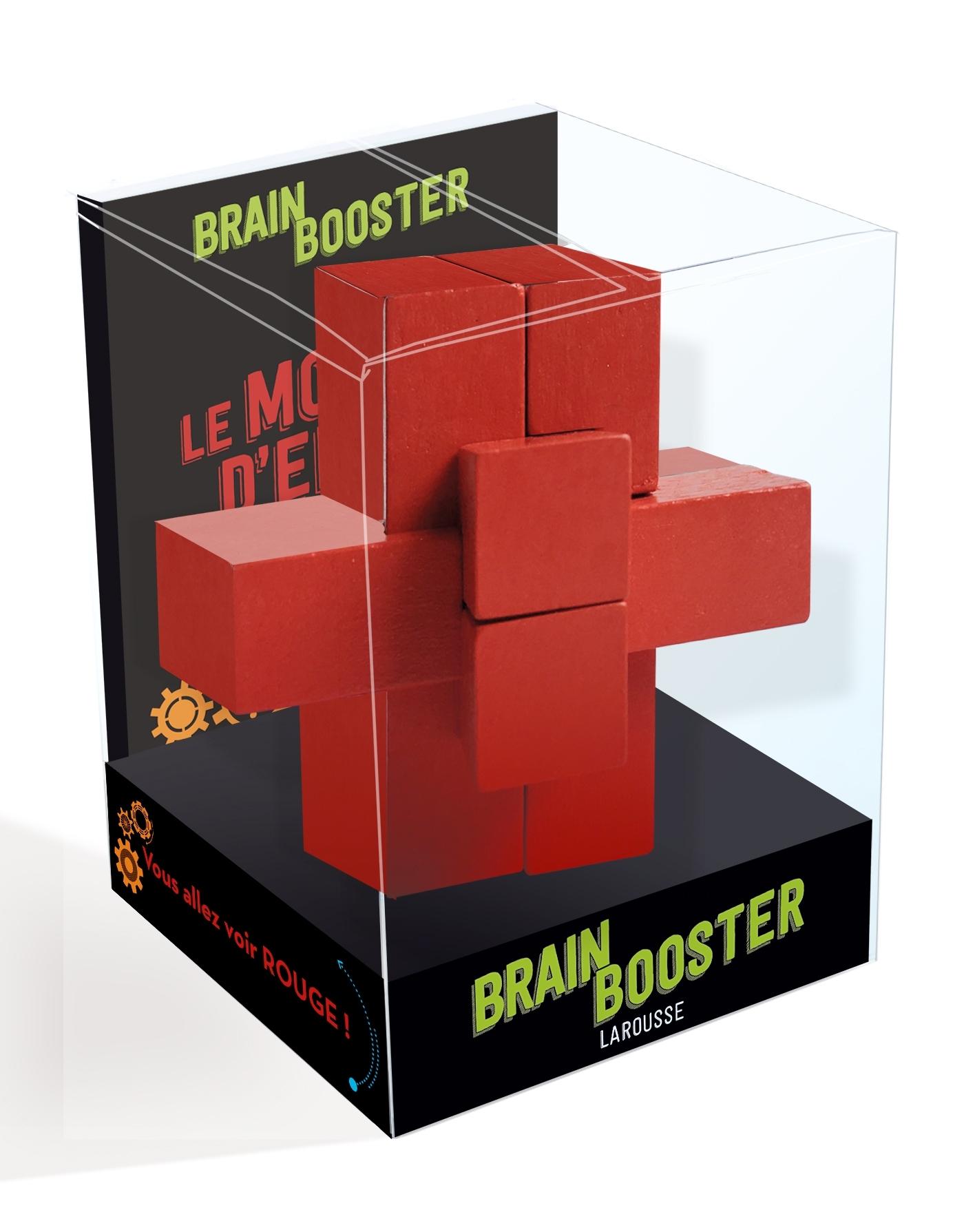 BRAIN BOOSTER/ ROUGE - VOUS ALLEZ VOIR ROUGE !