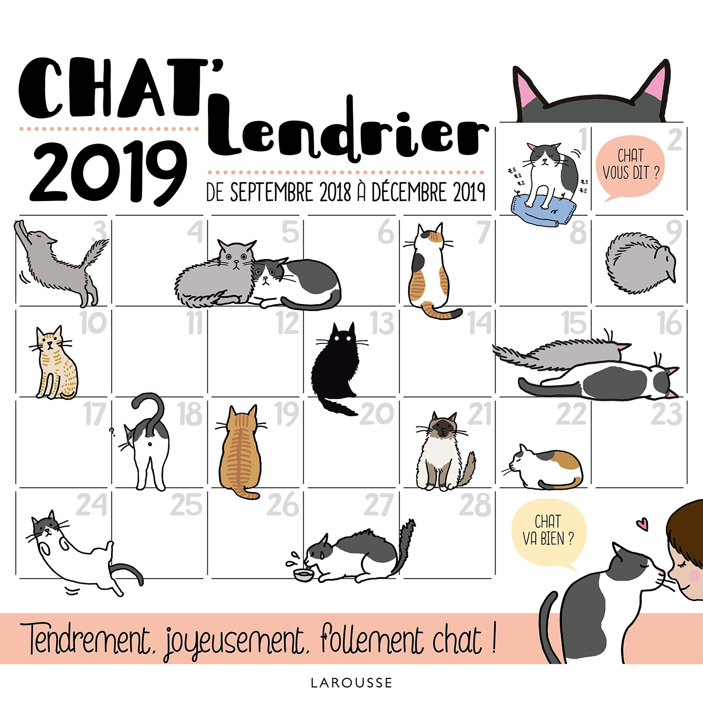 CHAT'LENDRIER 2019