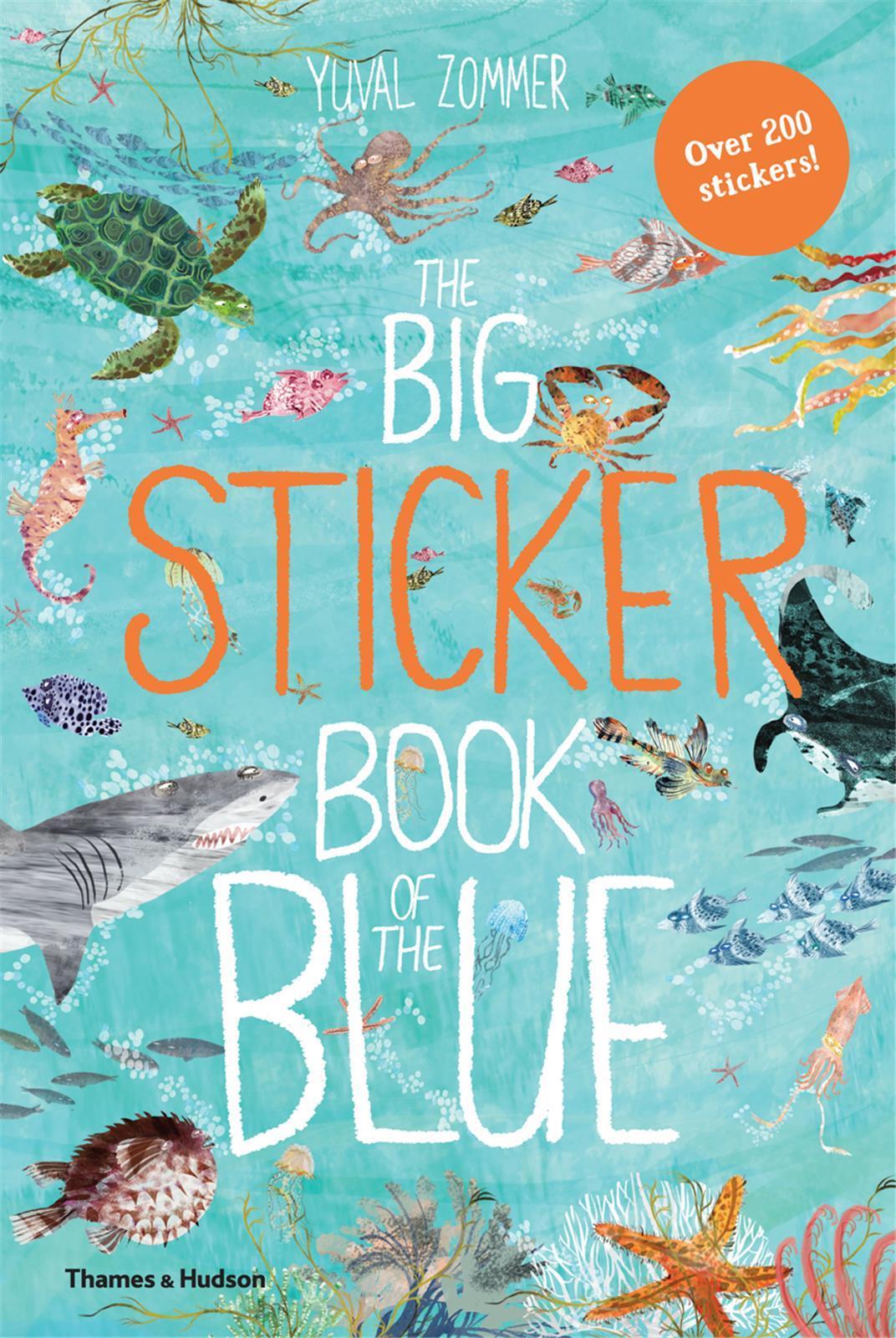 THE BIG STICKER BOOK OF THE BLUE /ANGLAIS