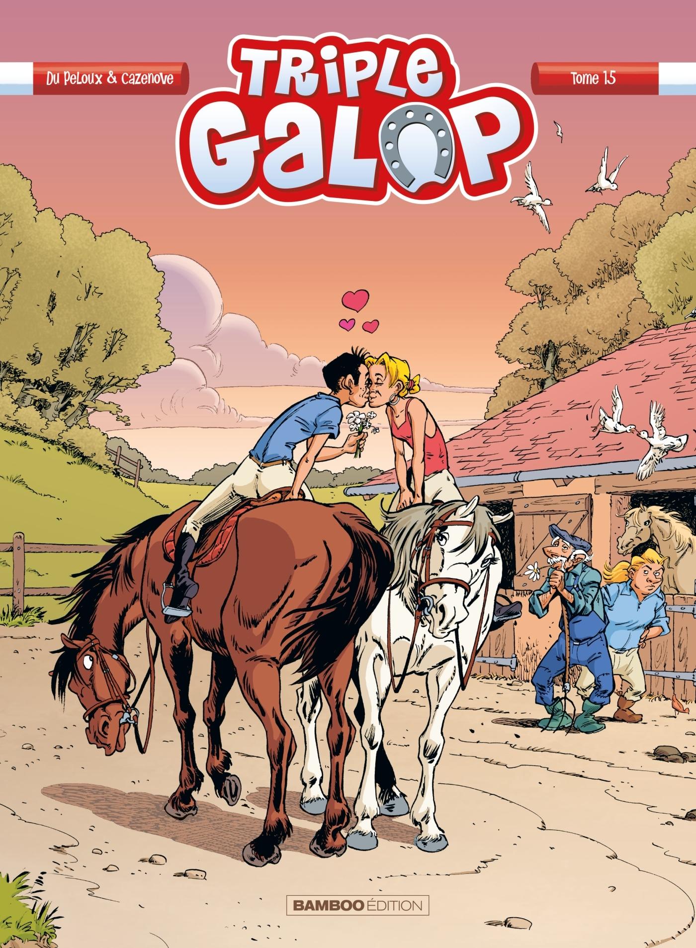 TRIPLE GALOP - TOME 15