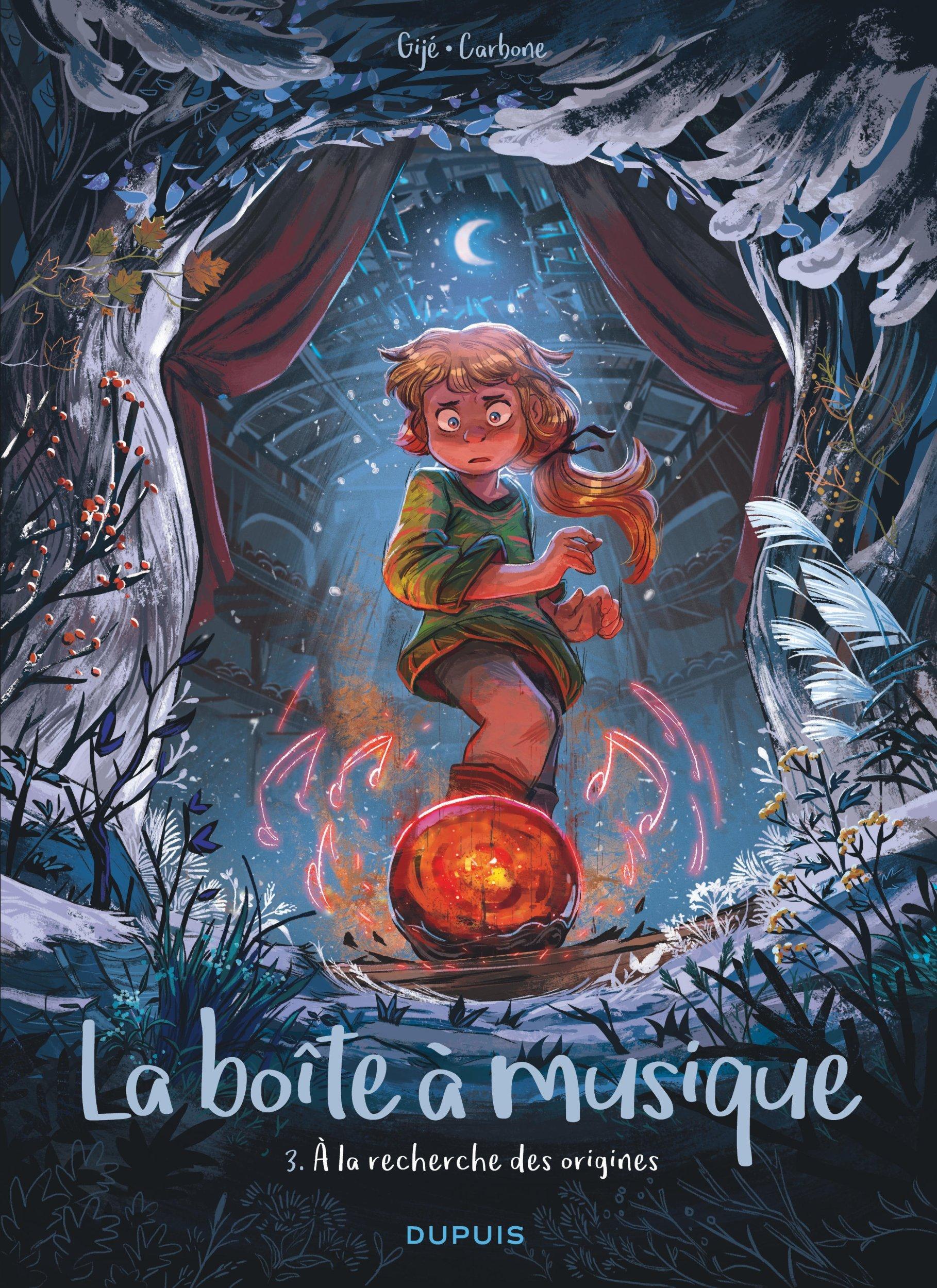 LA BOITE A MUSIQUE - TOME 3 - A LA RECHERCHE DES ORIGINES
