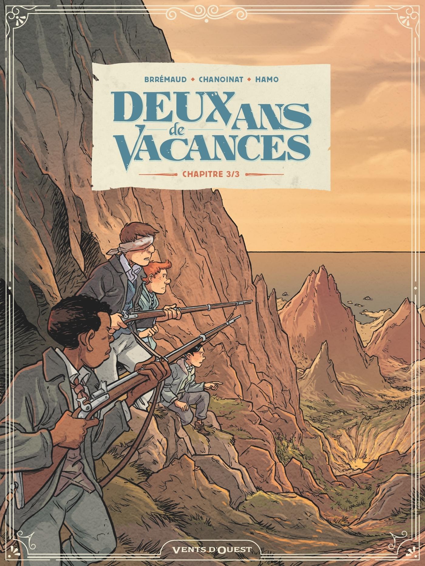 DEUX ANS DE VACANCES - TOME 03