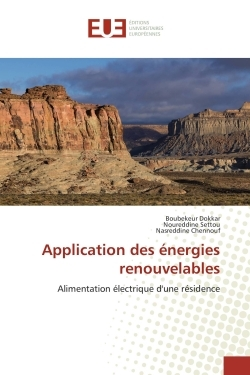 APPLICATION DES ENERGIES RENOUVELABLES