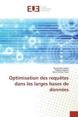 OPTIMISATION DES REQUETES DANS LES LARGES BASES DE DONNEES