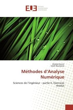 METHODES D'ANALYSE NUMERIQUE