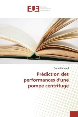 PREDICTION DES PERFORMANCES D'UNE POMPE CENTRIFUGE