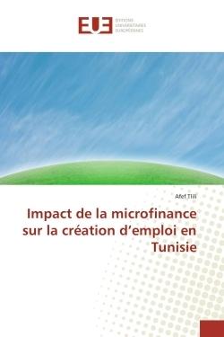 IMPACT DE LA MICROFINANCE SUR LA CREATION D'EMPLOI EN TUNISIE
