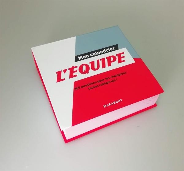 EPHEMERIDE L'EQUIPE 2019