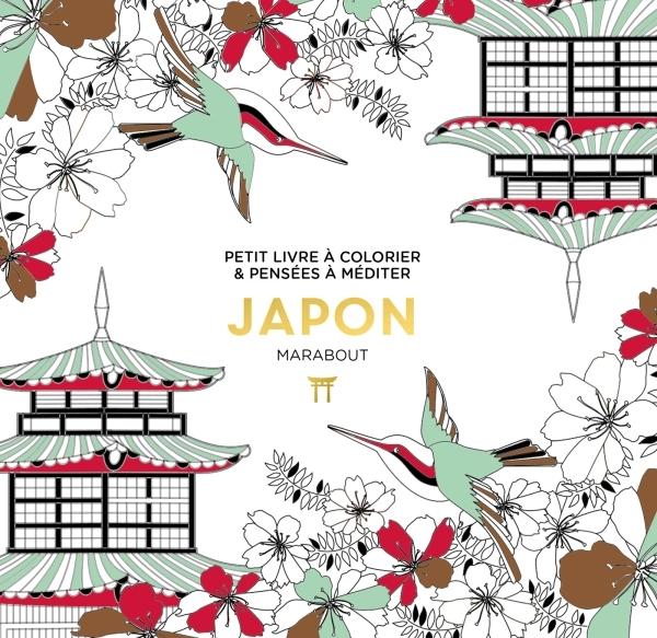 LE PETIT LIVRE DE COLORIAGES - JAPON