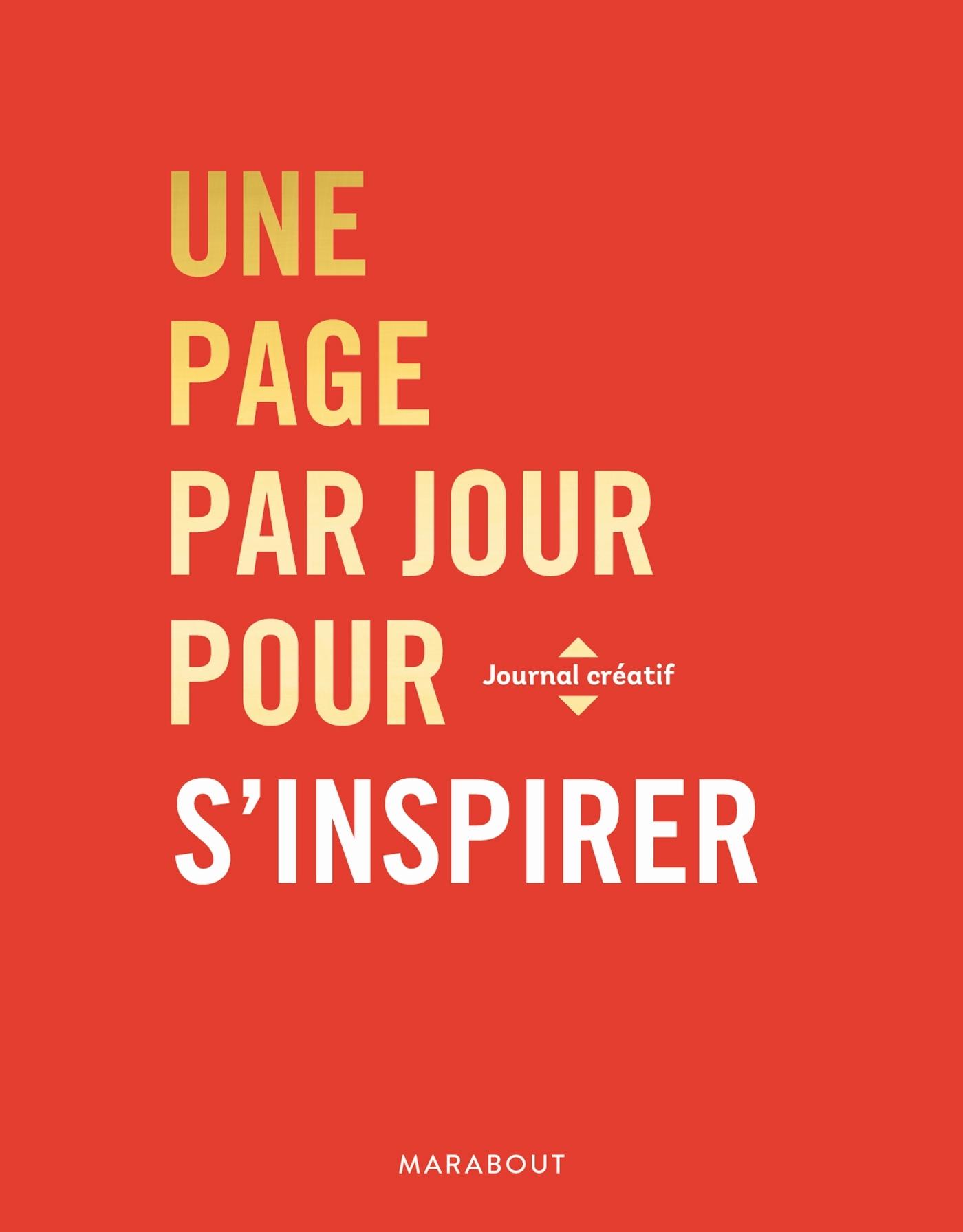 UNE PAGE PAR JOUR POUR S'INSPIRER