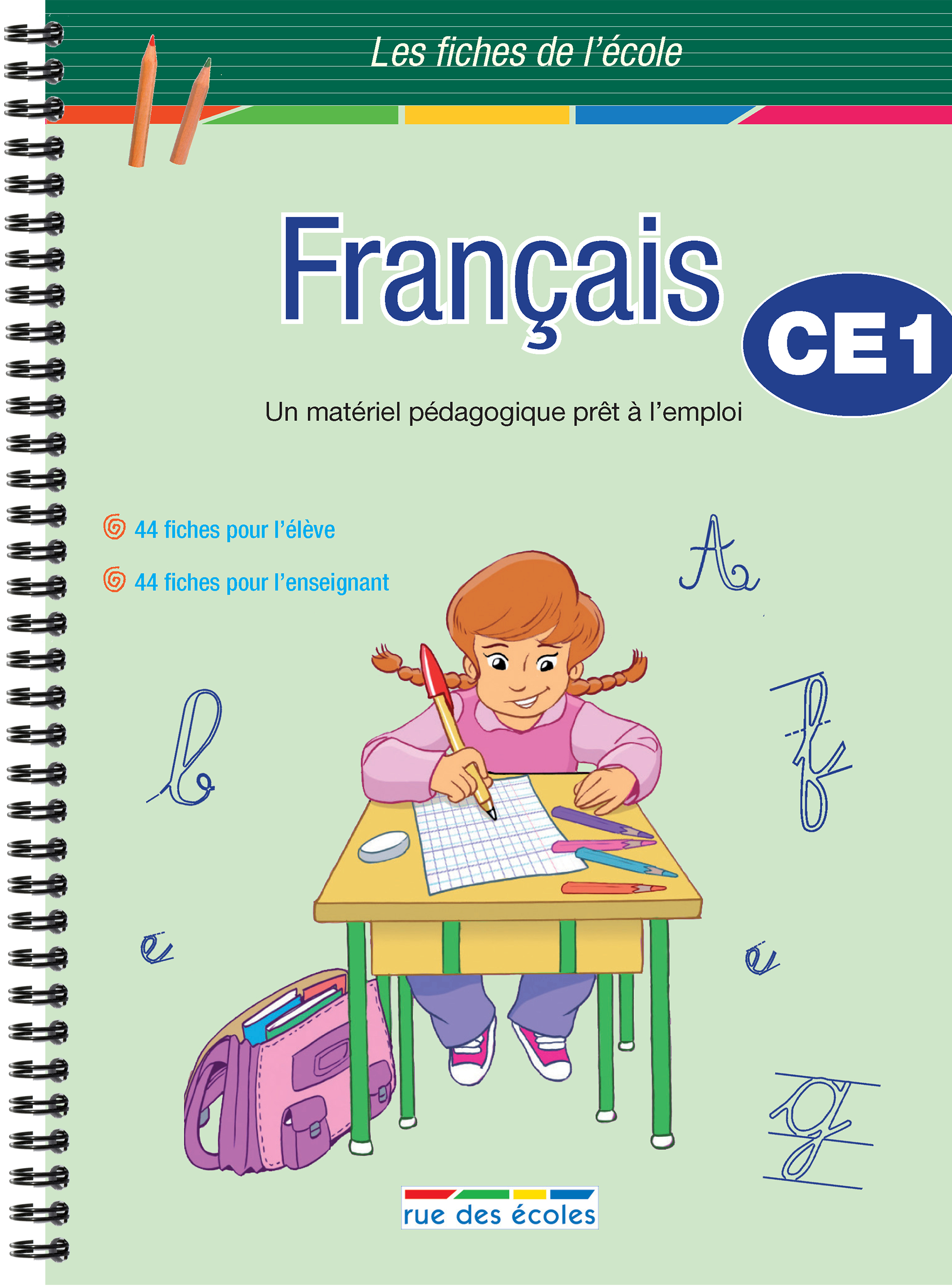 CE1 FRANCAIS FICHES DE L'ECOLE