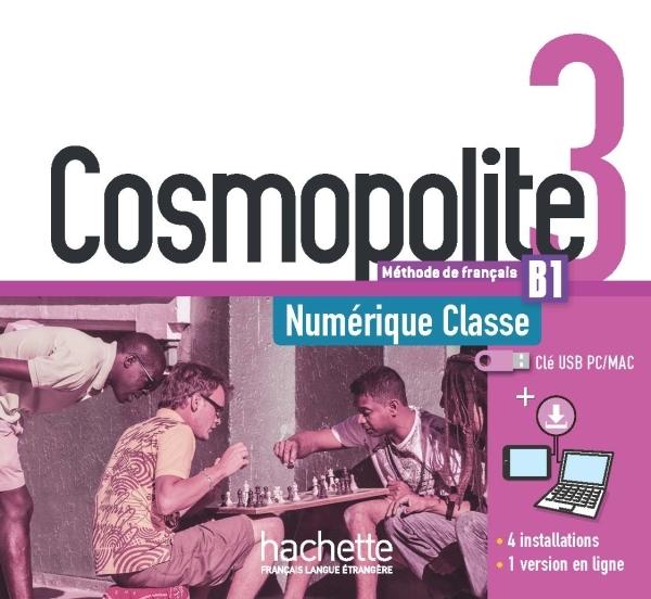 COSMOPOLITE 3 : MANUEL NUMERIQUE CLASSE (CLE USB)