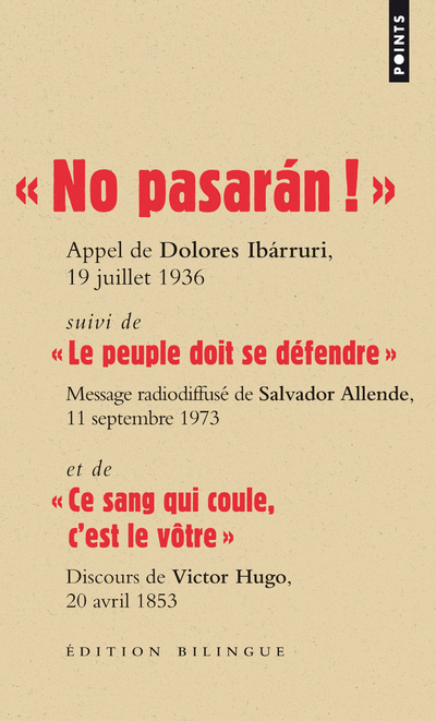 """ NO PASARAN ! "". APPEL DE DOLORES IBARRURI, 19 JUILLET 1936"
