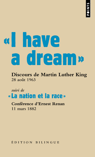 """ I HAVE A DREAM "". DISCOURS DU PASTEUR MARTIN LUTHER KING, WASHINGTON D.C., 28 AOUT 1963"