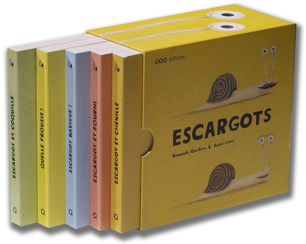 ESCARGOTS - COFFRET DE 5 TITRES