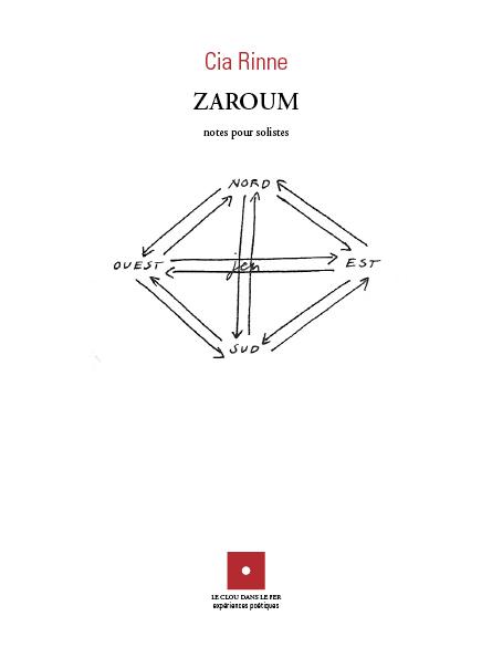 ZARUM NOTES POUR SOLISTES