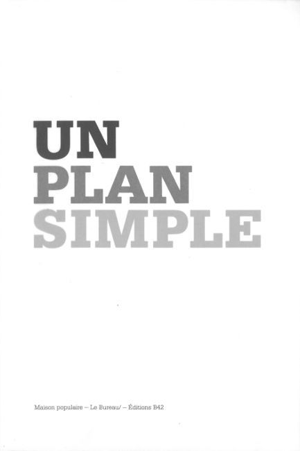 UN PLAN SIMPLE - PERSPECTIVE, SCENE, ECRAN