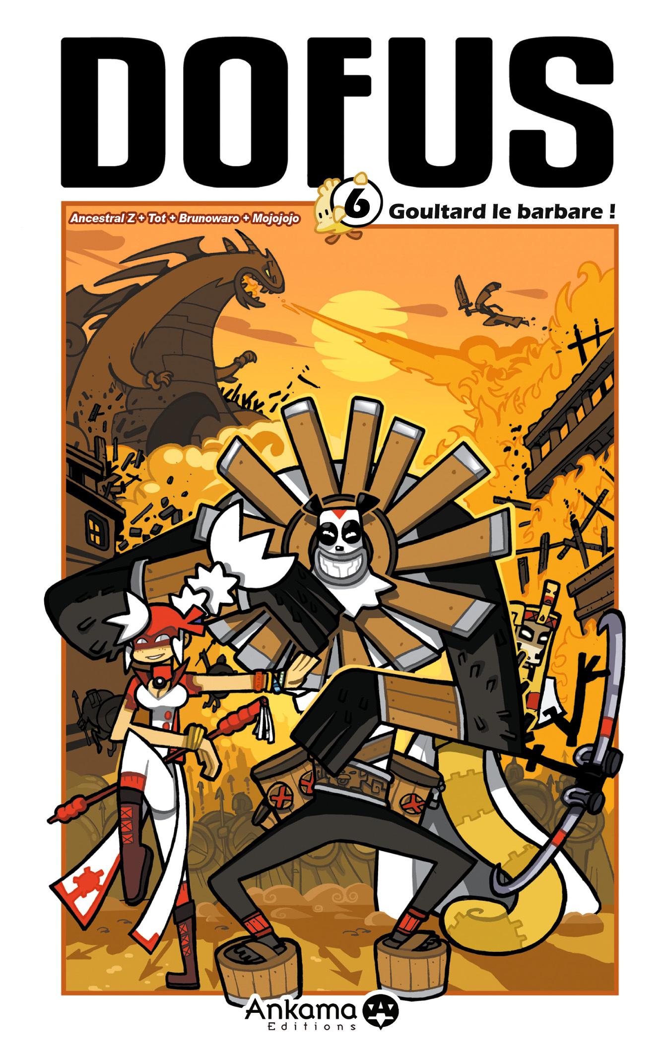 DOFUS T06 GOULTARD LE BARBARE