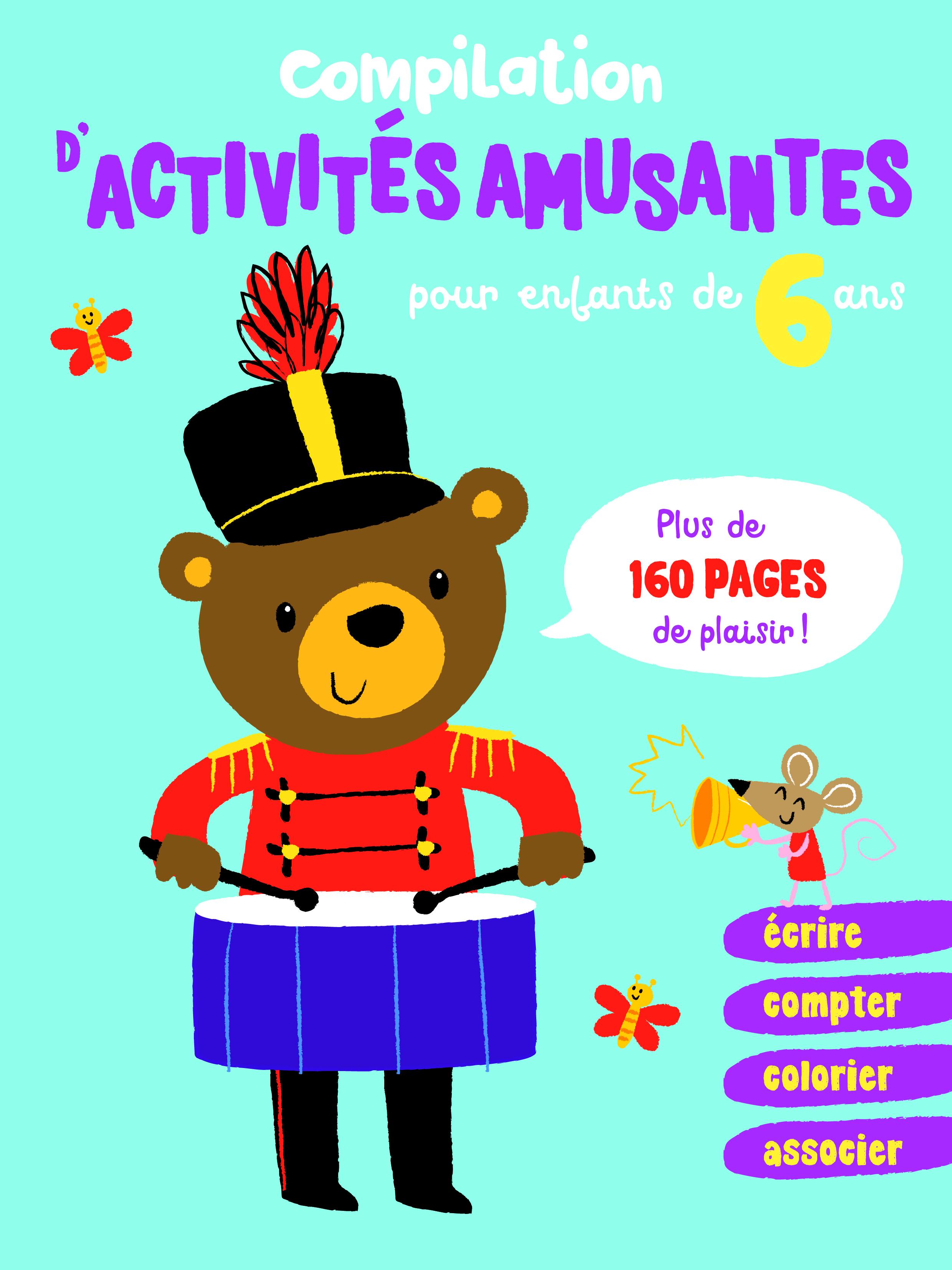 COMPILATION D'ACTIVITES AMUSANTES POUR ENFANTS DE 6 ANS