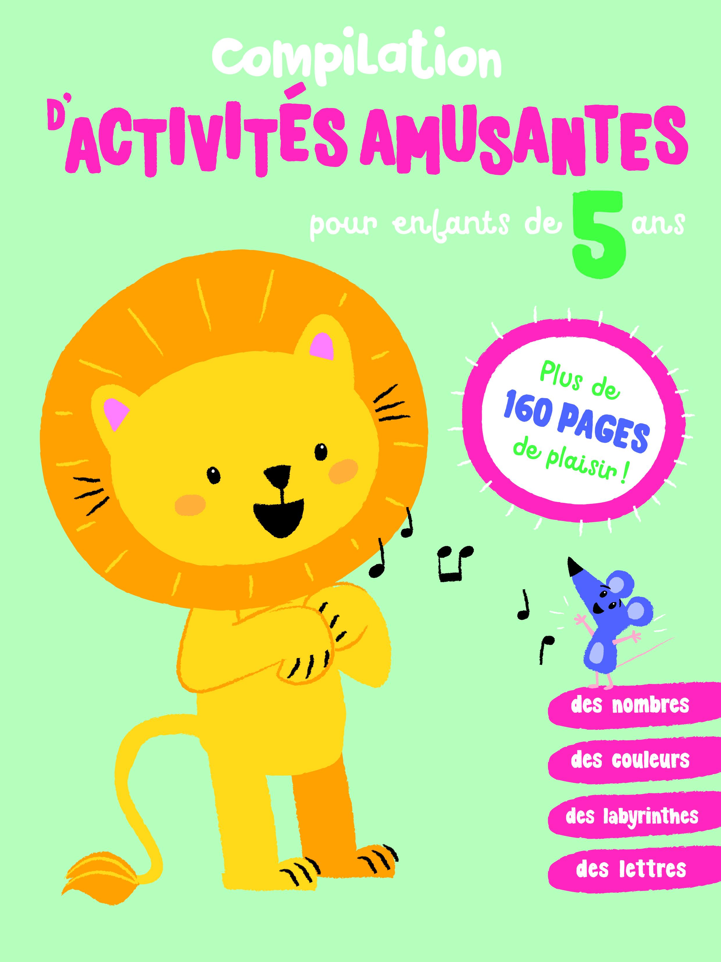 COMPILATION D'ACTIVITES AMUSANTES POUR ENFANTS DE 5 ANS
