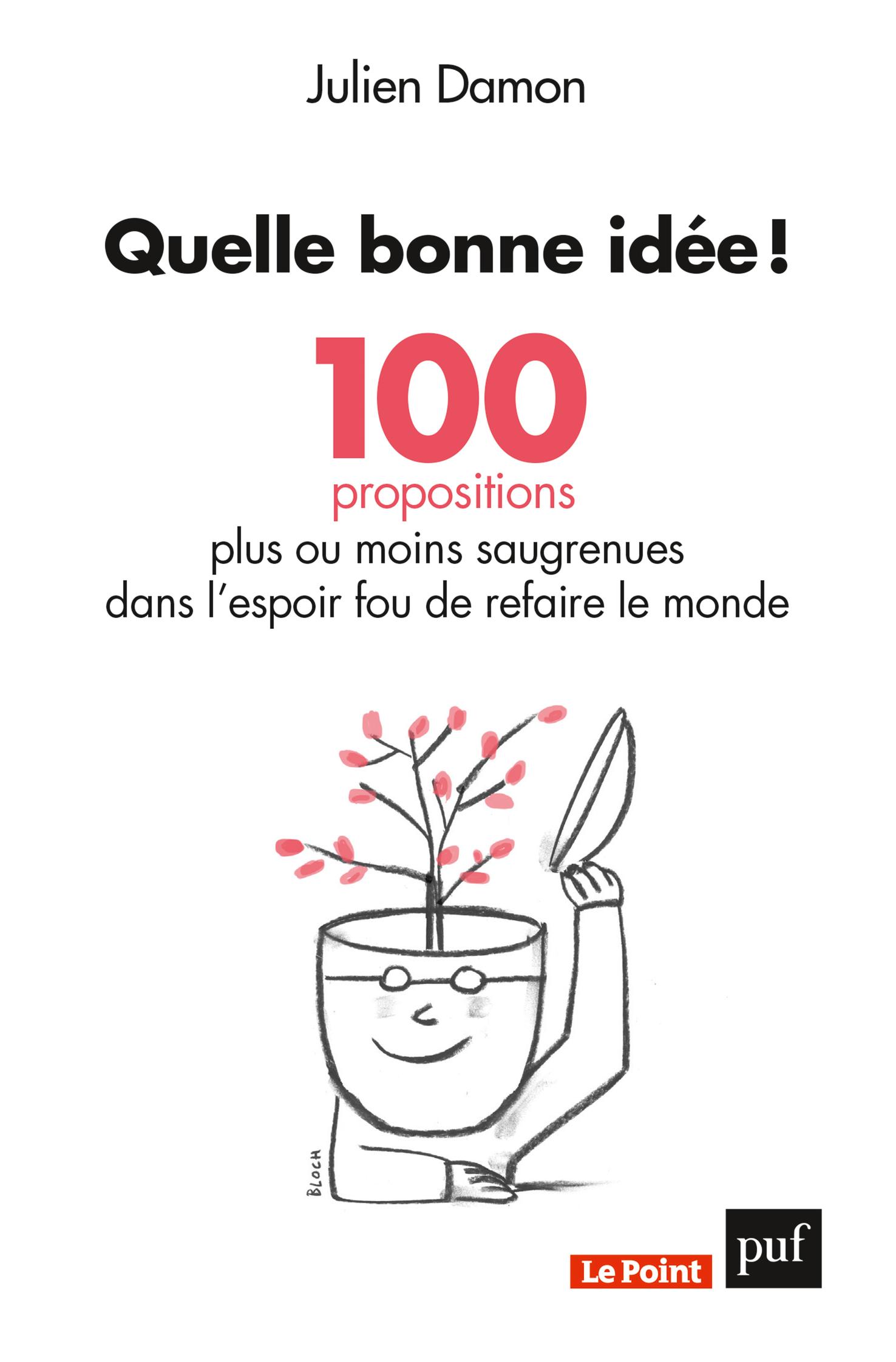 QUELLE BONNE IDEE ! 100 PROPOSITIONS PLUS OU MOINS SAUGRENUES