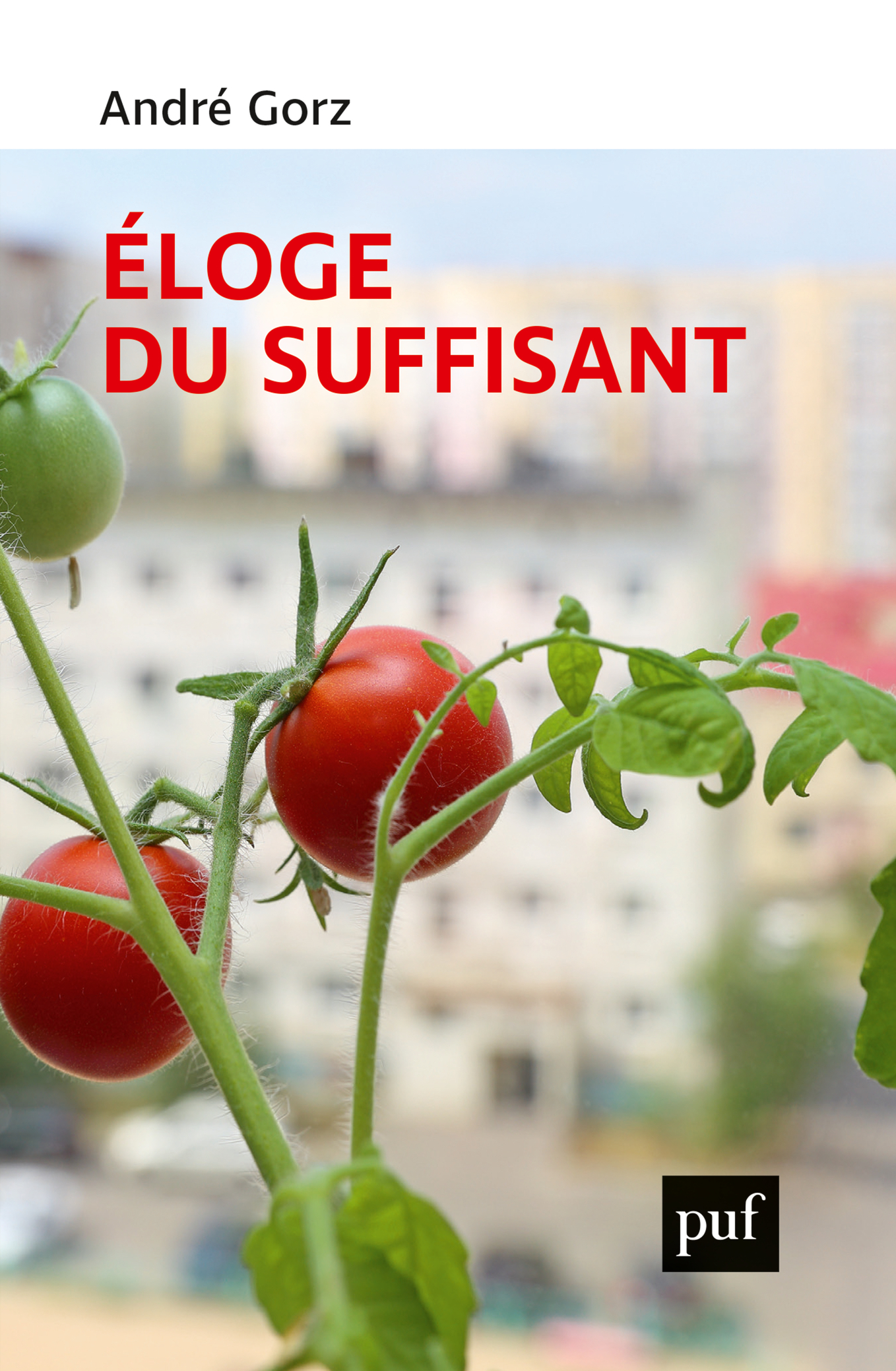 ELOGE DU SUFFISANT