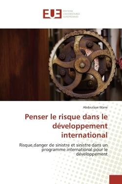 PENSER LE RISQUE DANS LE DEVELOPPEMENT INTERNATIONAL
