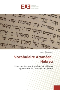 VOCABULAIRE ARAMEEN-HEBREU