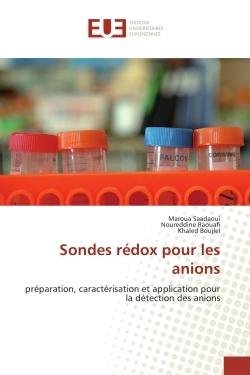 SONDES REDOX POUR LES ANIONS