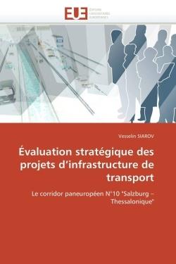 EVALUATION STRATEGIQUE DES PROJETS D INFRASTRUCTURE DE TRANSPORT