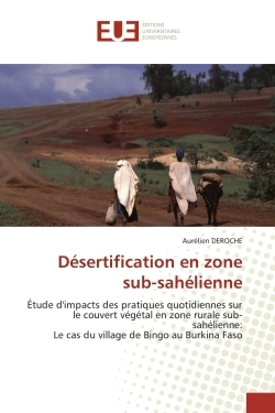 DESERTIFICATION EN ZONE  SUB-SAHELIENNE