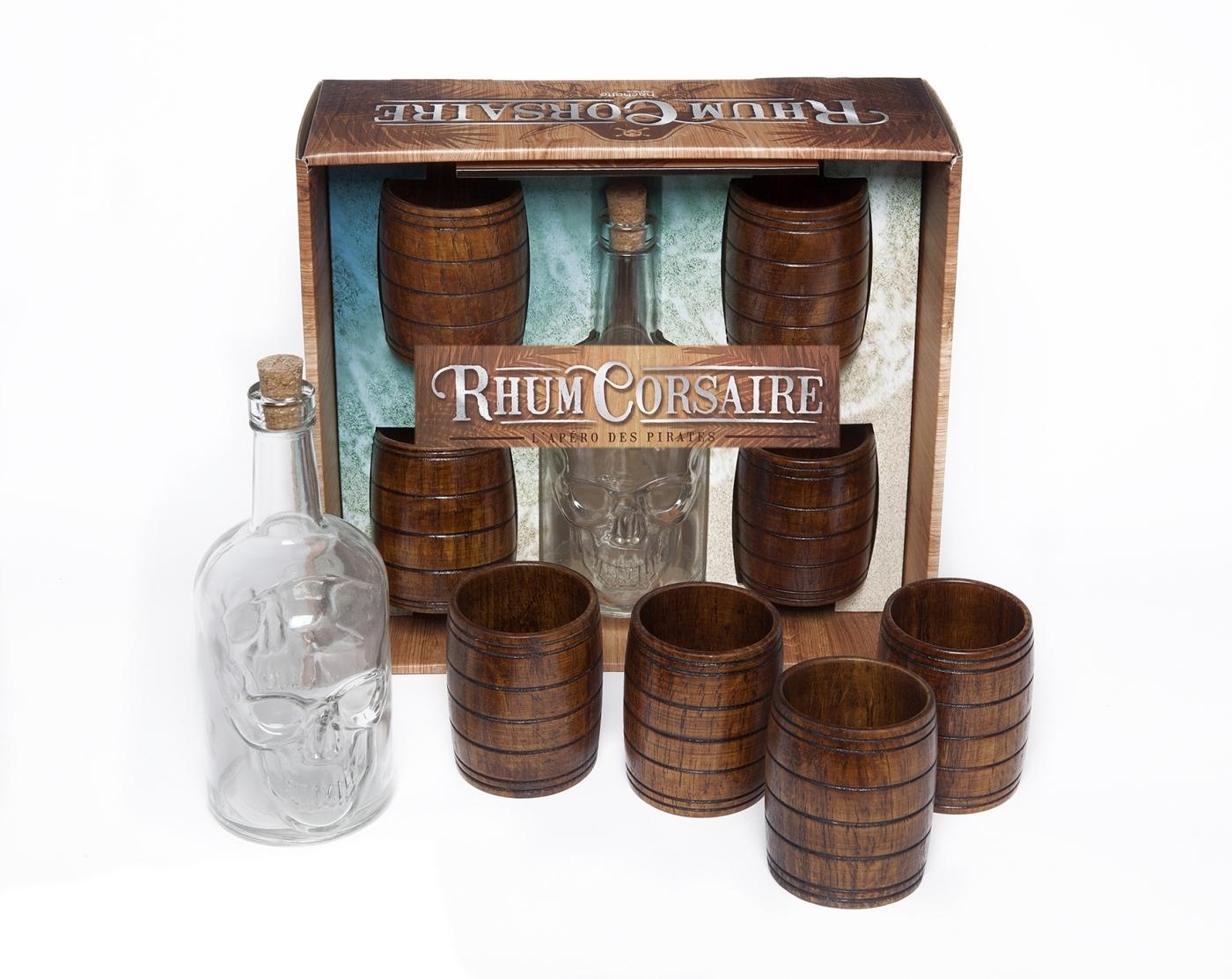 COFFRET RHUM CORSAIRE