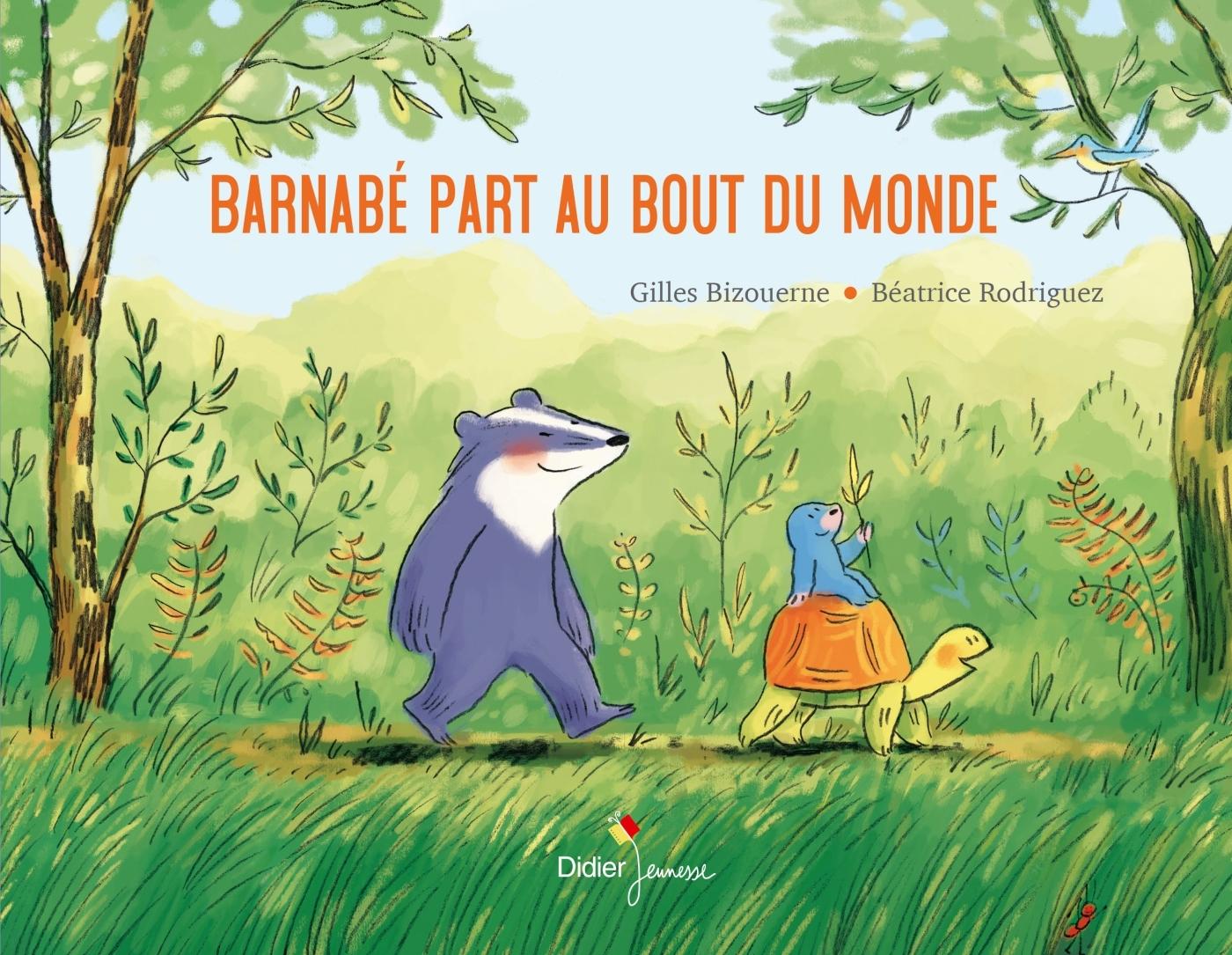 BARNABE PART AU BOUT DU MONDE