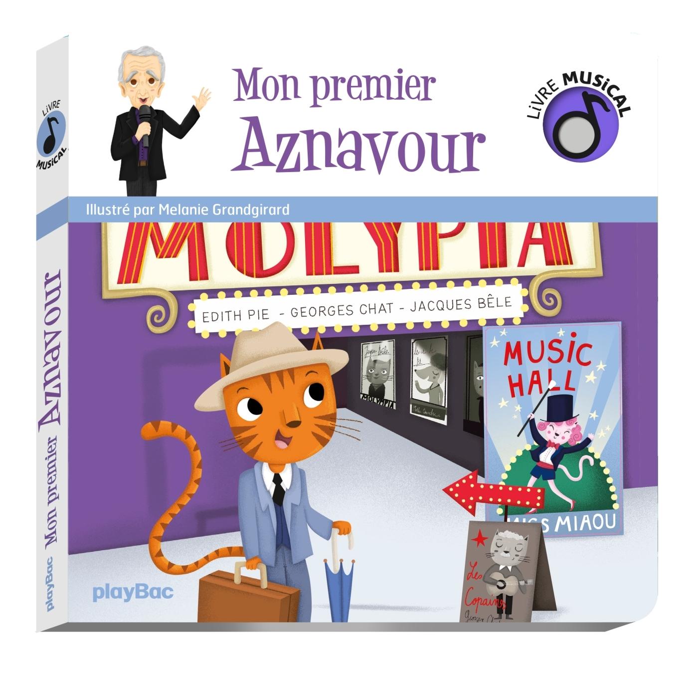 LIVRE MUSICAL - MON PREMIER AZNAVOUR