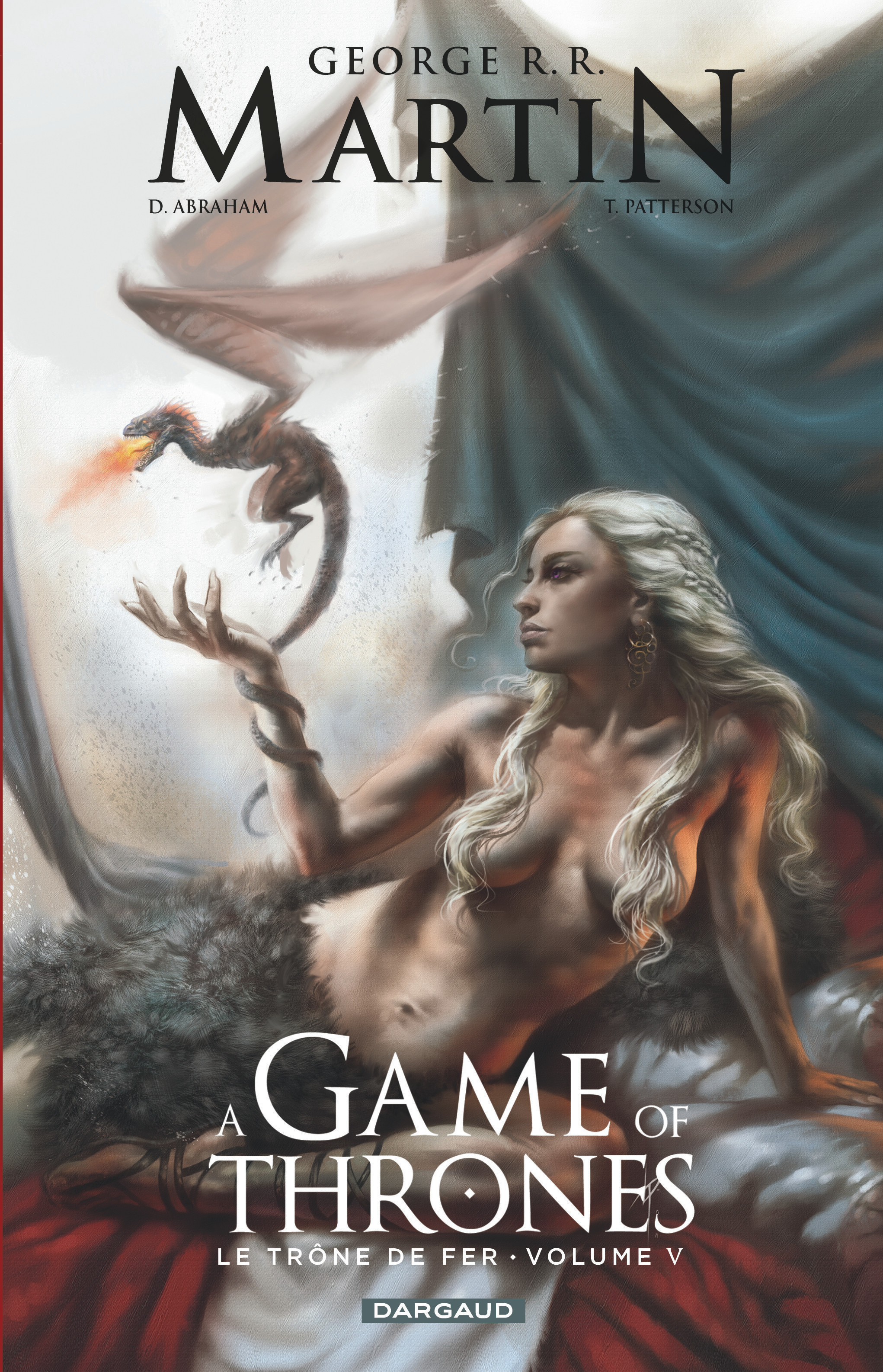 A GAME OF THRONES-LE TRONE FER - GAME OF THRONES (A) - LE TRONE DE FER - TOME 5 - A GAME OF THRO
