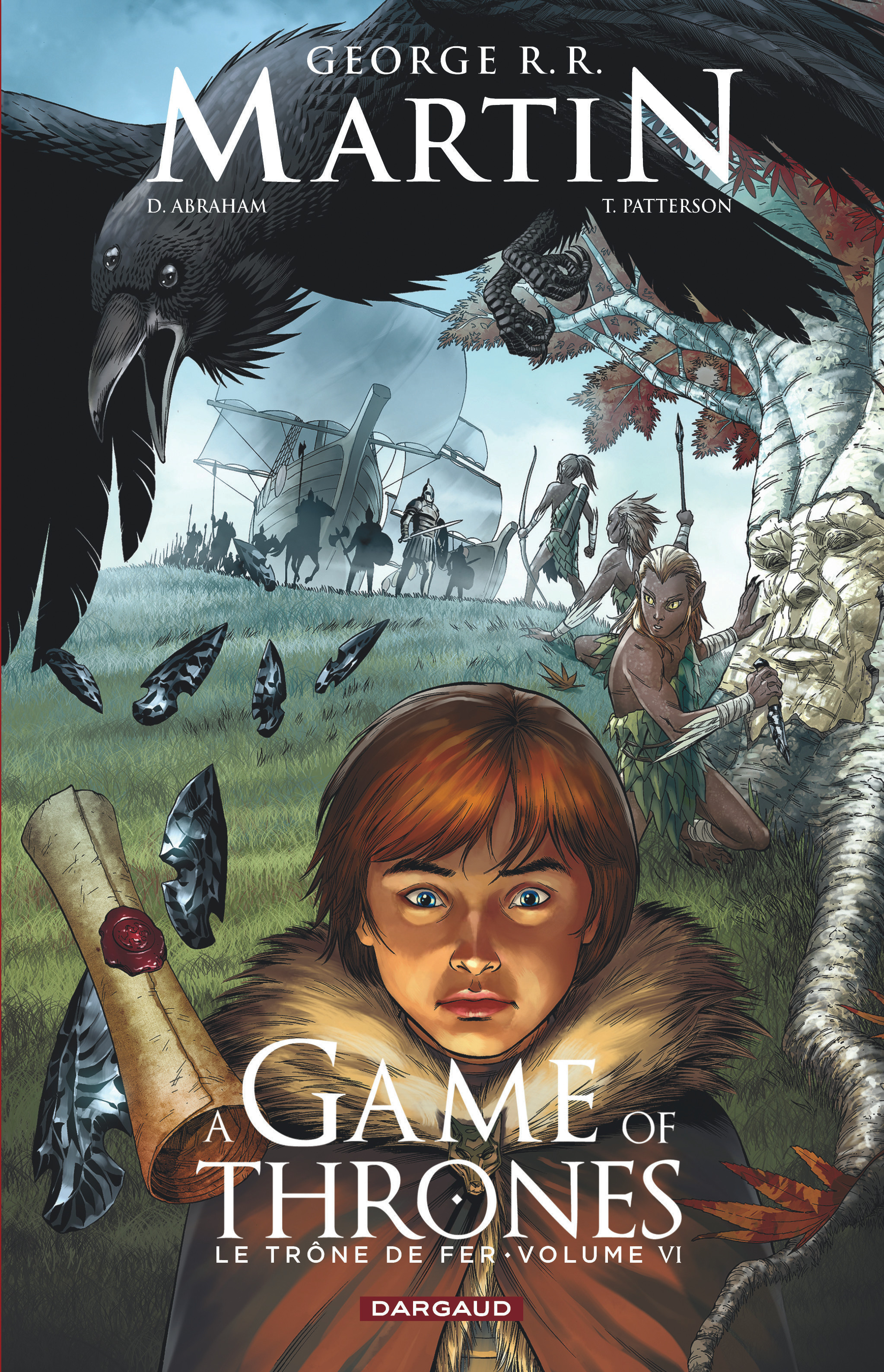 A GAME OF THRONES-LE TRONE FER - GAME OF THRONES (A) - LE TRONE DE FER - TOME 6 - A GAME OF THRO