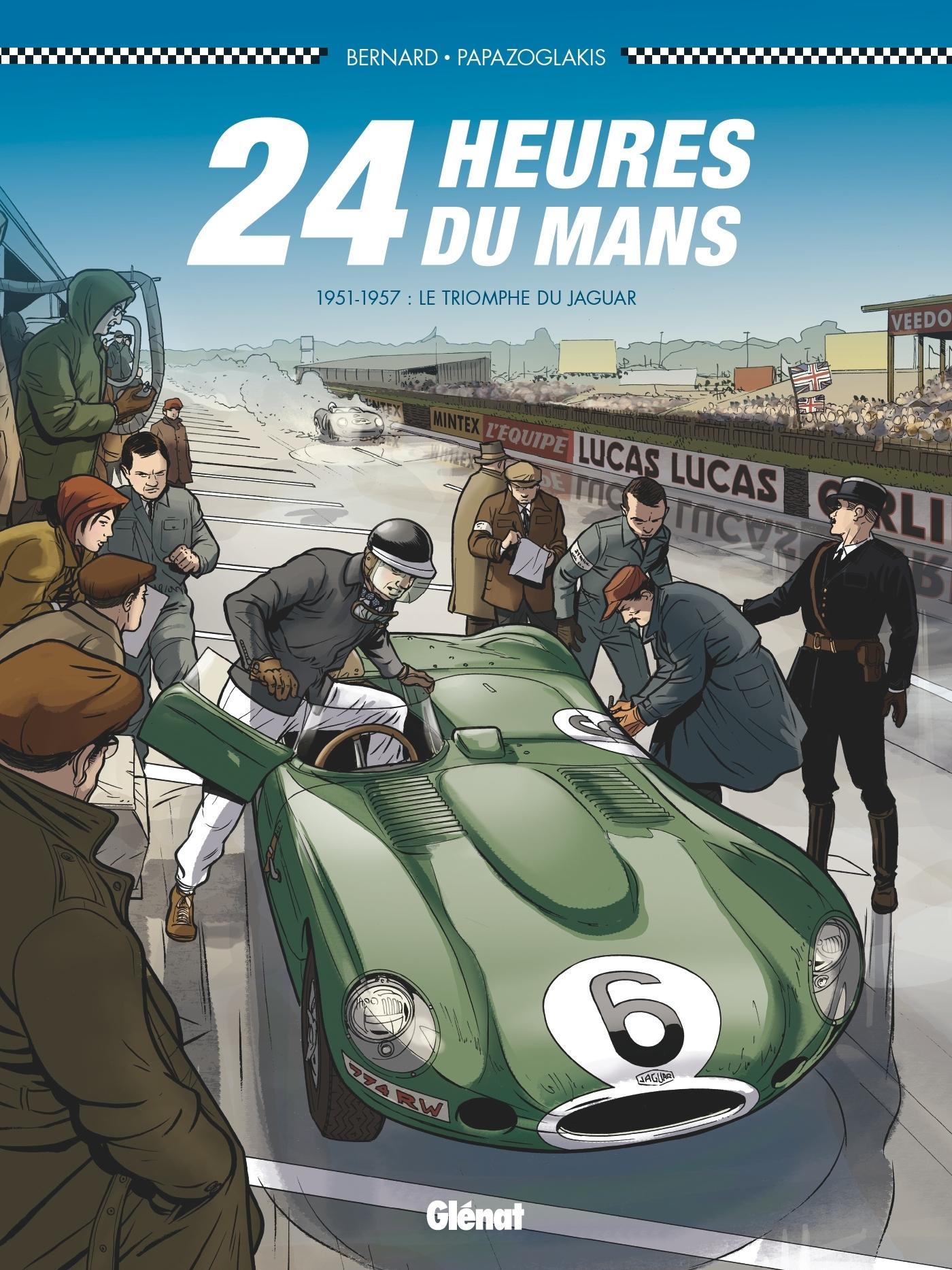 24 HEURES DU MANS - 1951-1957 - T4 - LE TRIOMPHE DE JAGUAR