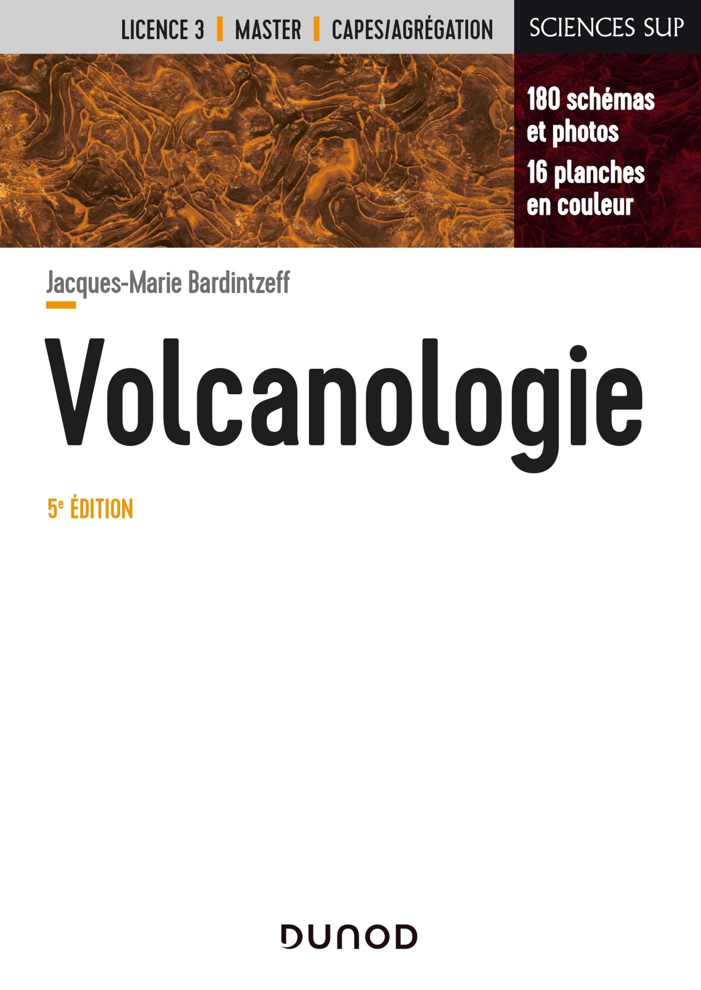 VOLCANOLOGIE - 5E ED.